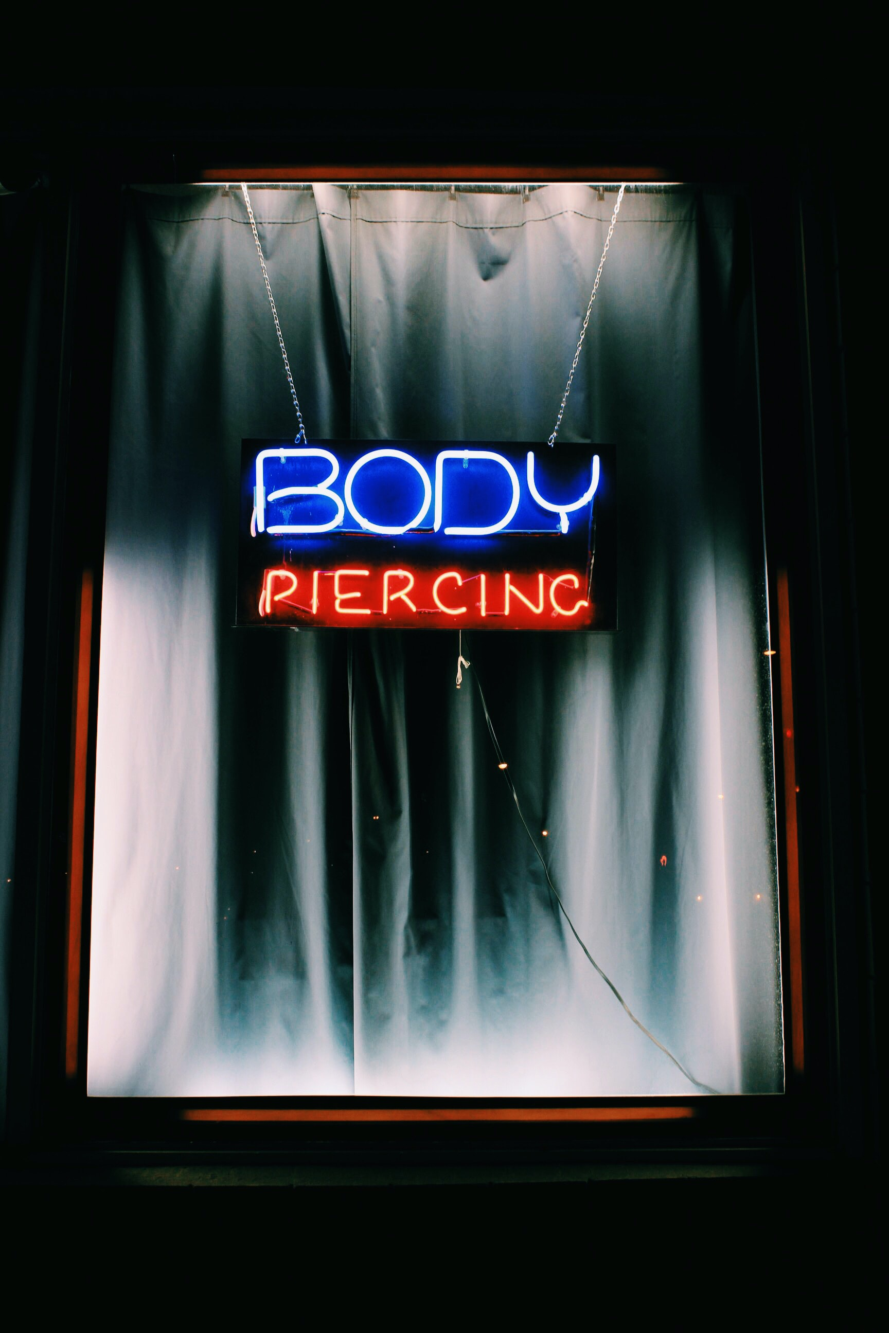 Body Piercing signage