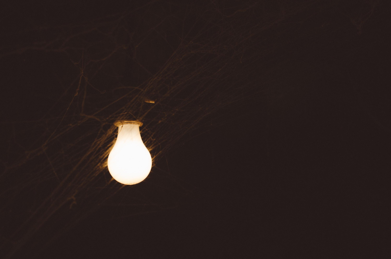lighted LED bulb