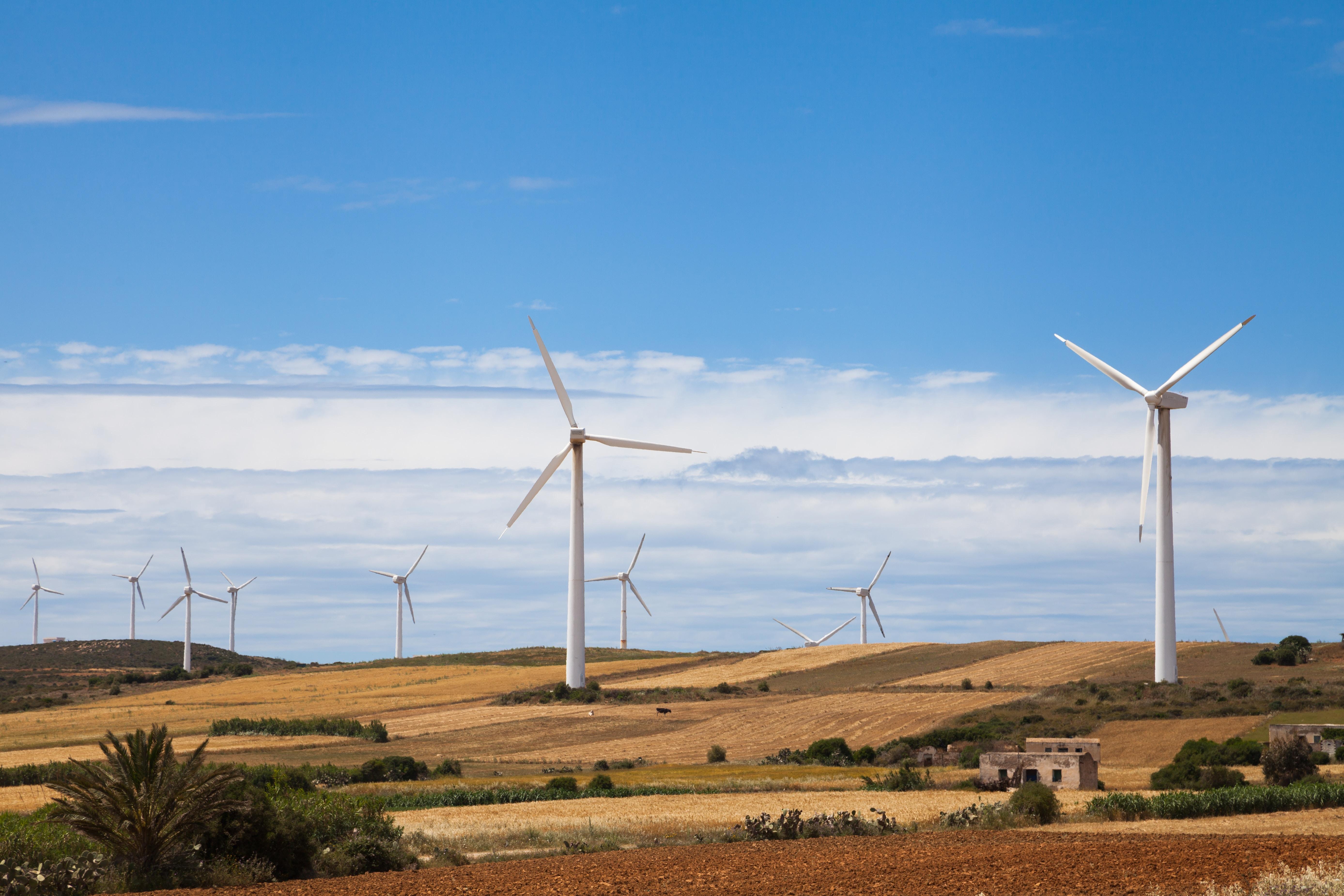 white windmills under blue sky during daytime