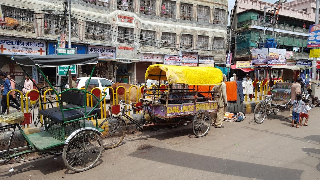 Street life in Varanasi, India