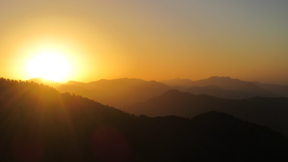sunrise illustration