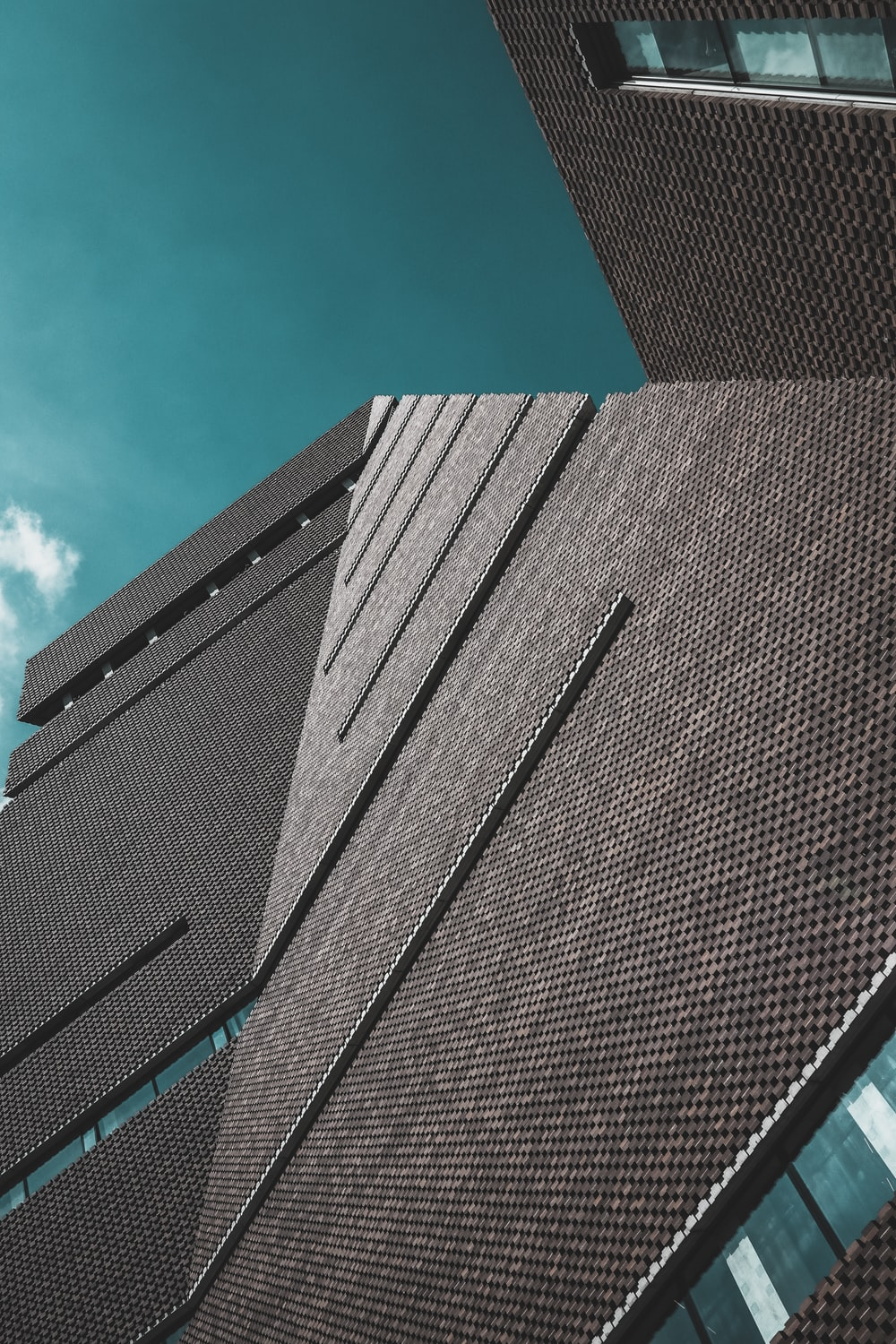 worm view of building during daytime