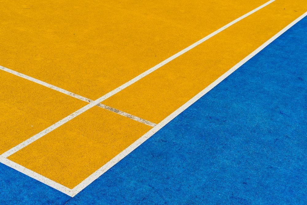 yellow area rug