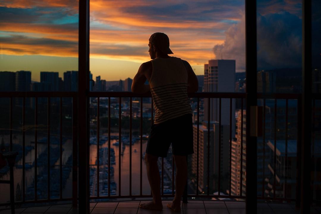 Hawaiian sunsets are lit