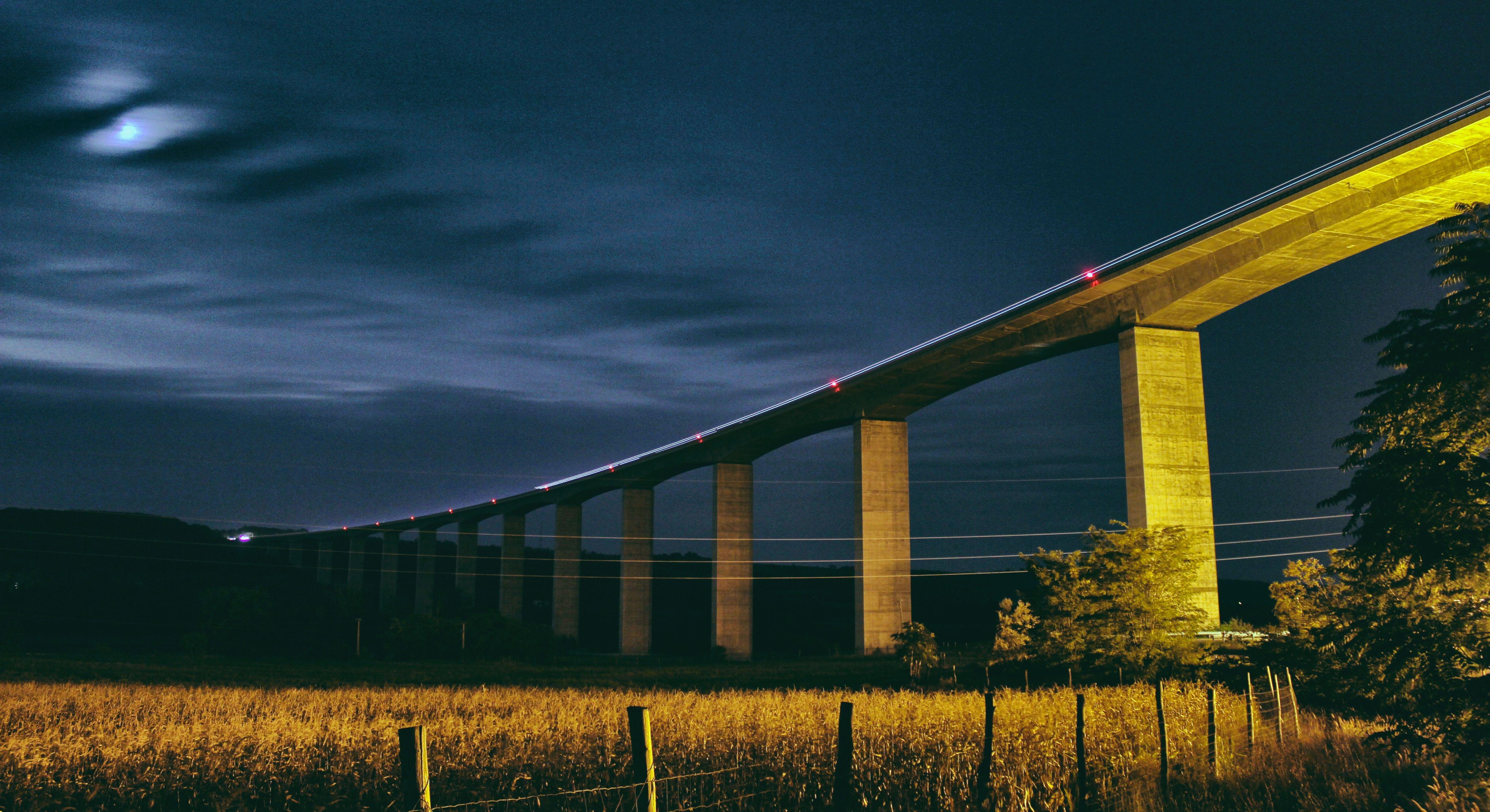 photography of bridge
