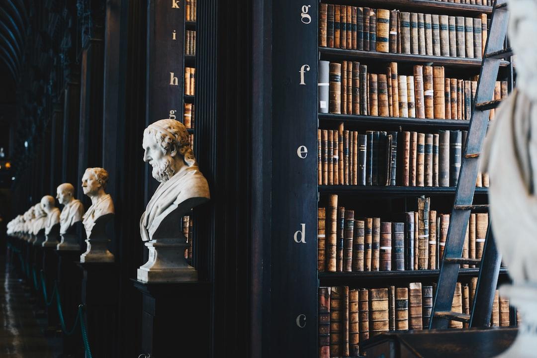 antike Bibliothek