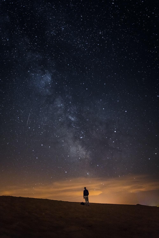 Image result for mahkeo unsplash night sky