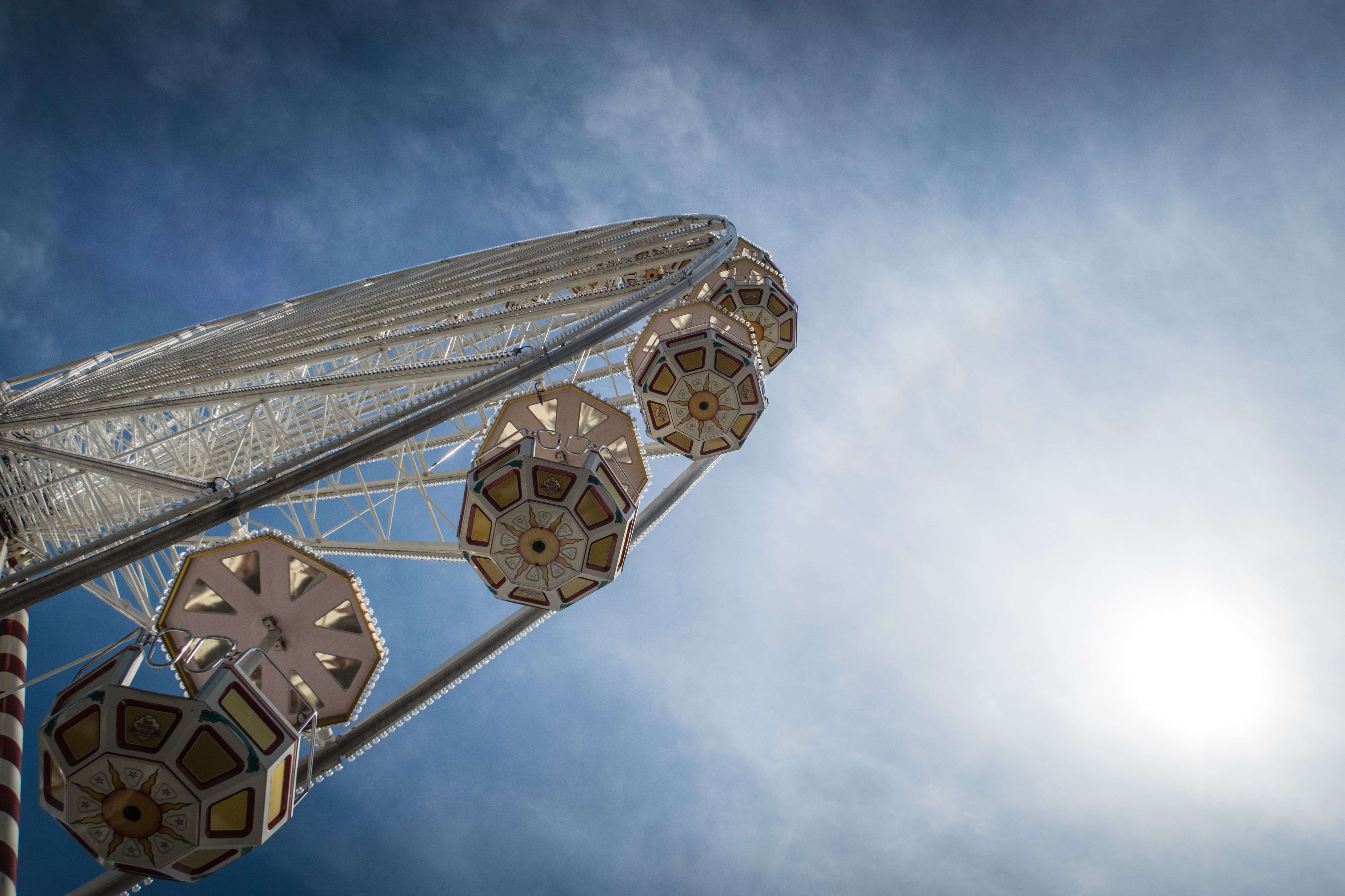 low angle photography of ferris wheel during daytime