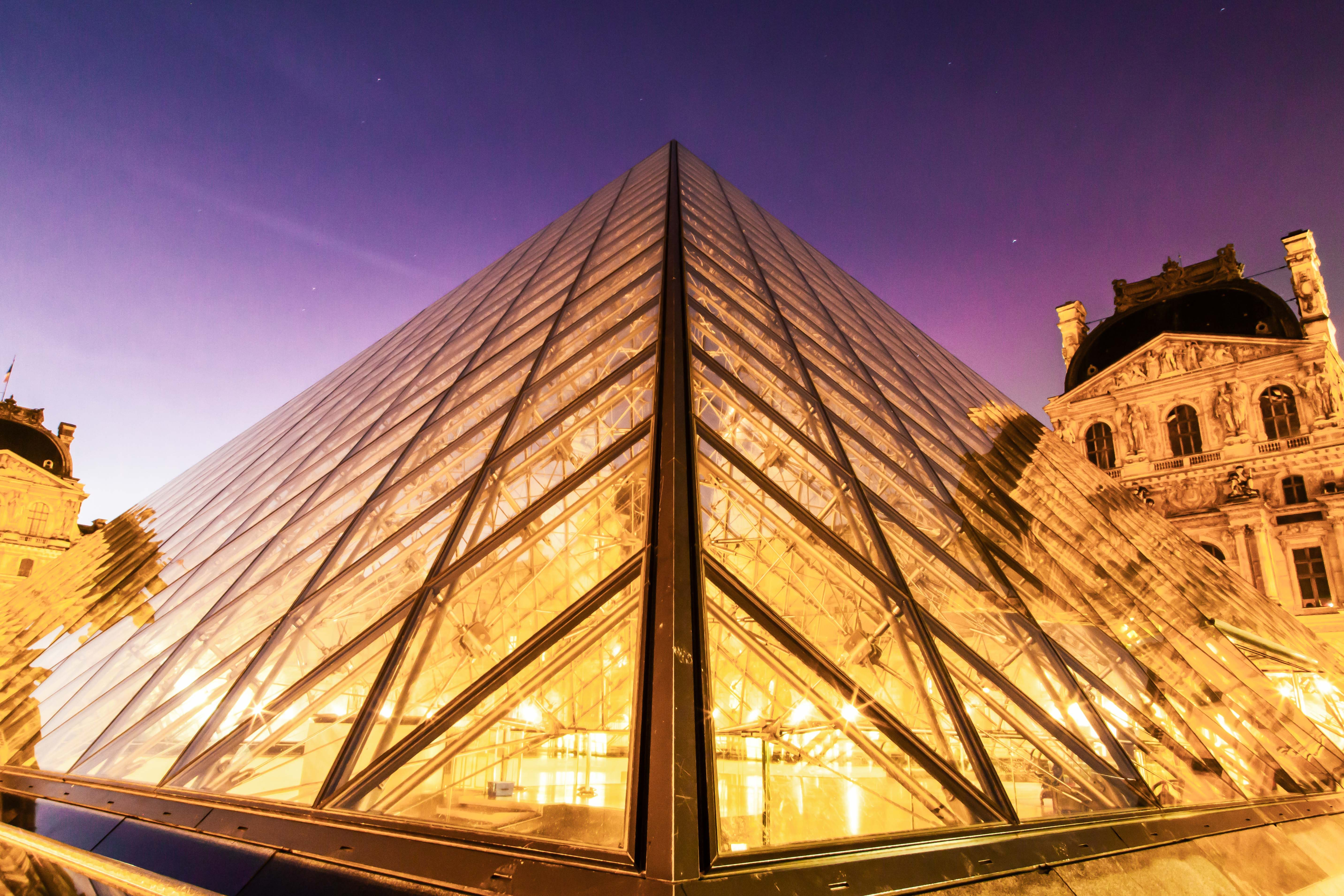 louvre pyramid museum France