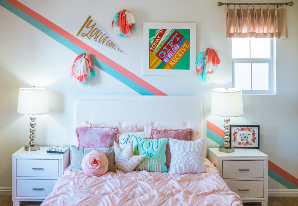photography of bedroom