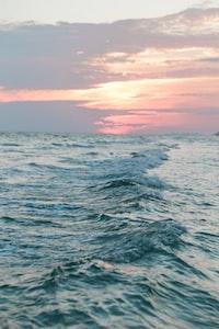 water waves at daytime