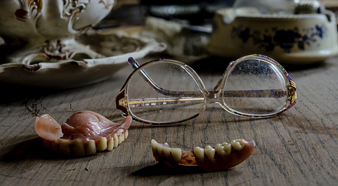 teeth and glasses