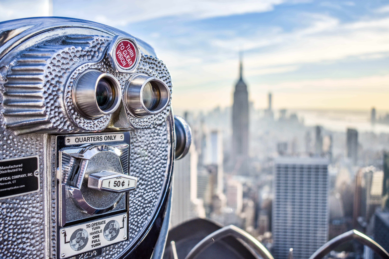 vintage gray metal camera