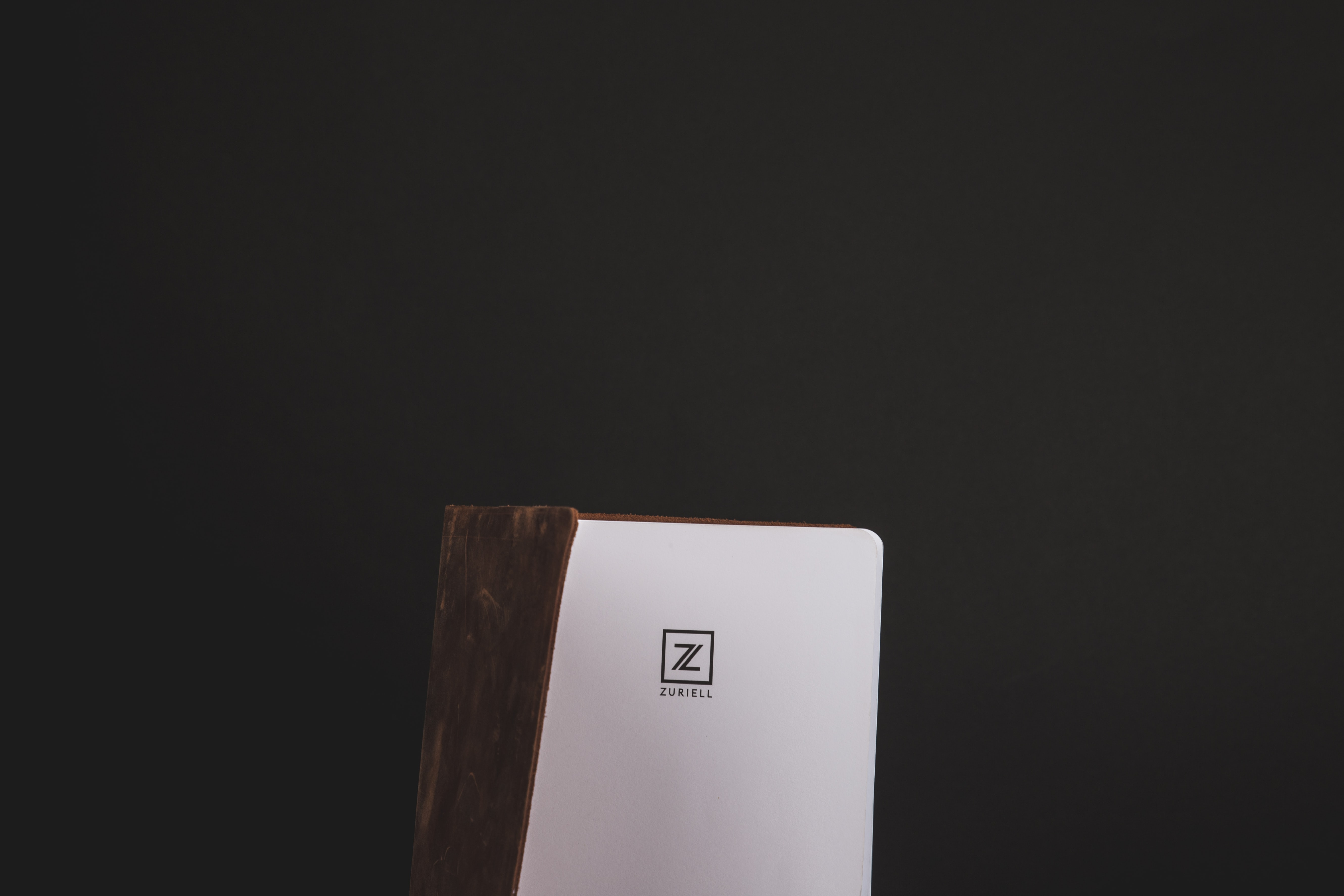 brown and white Z board