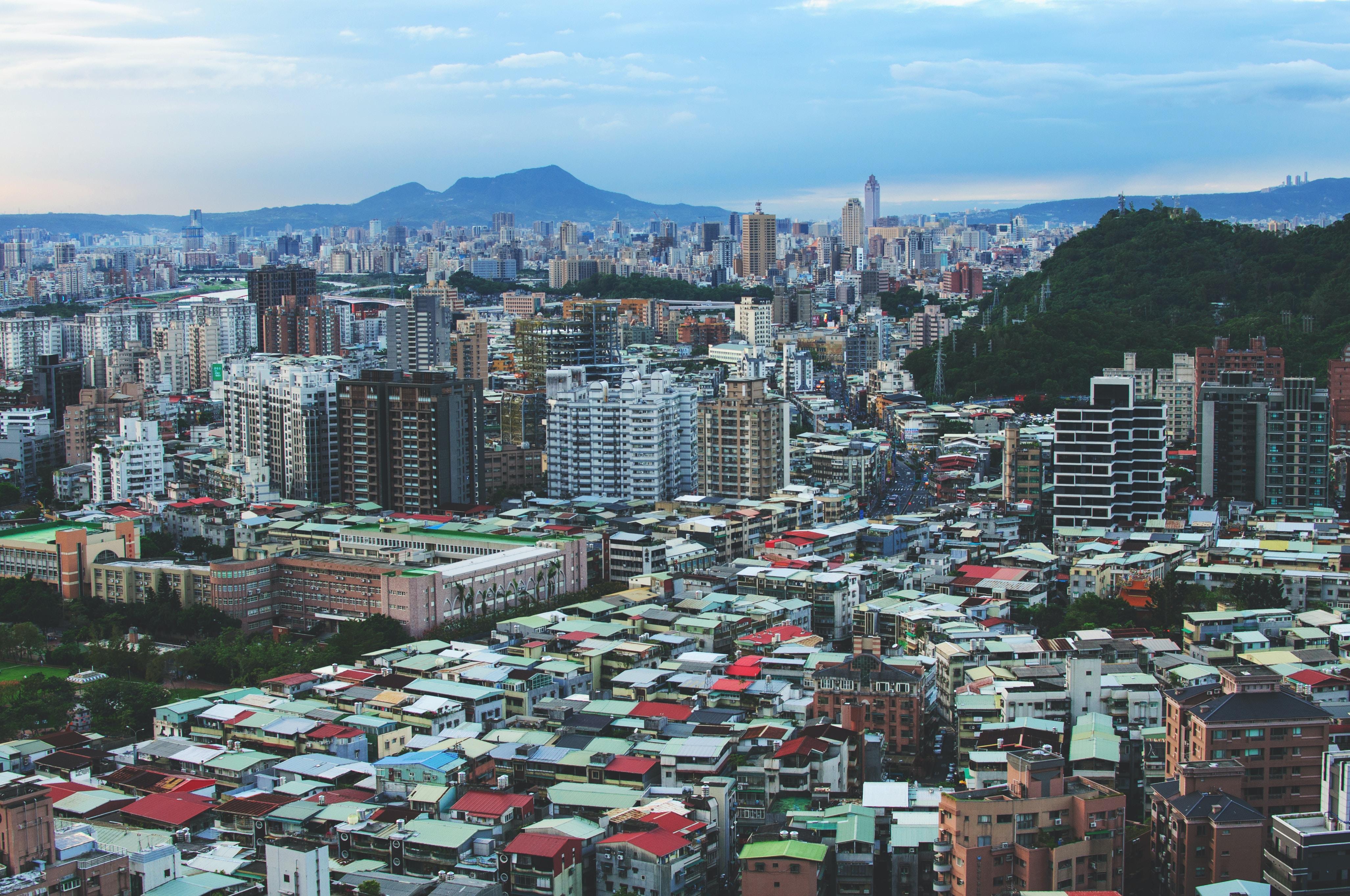 city skyline at daytime