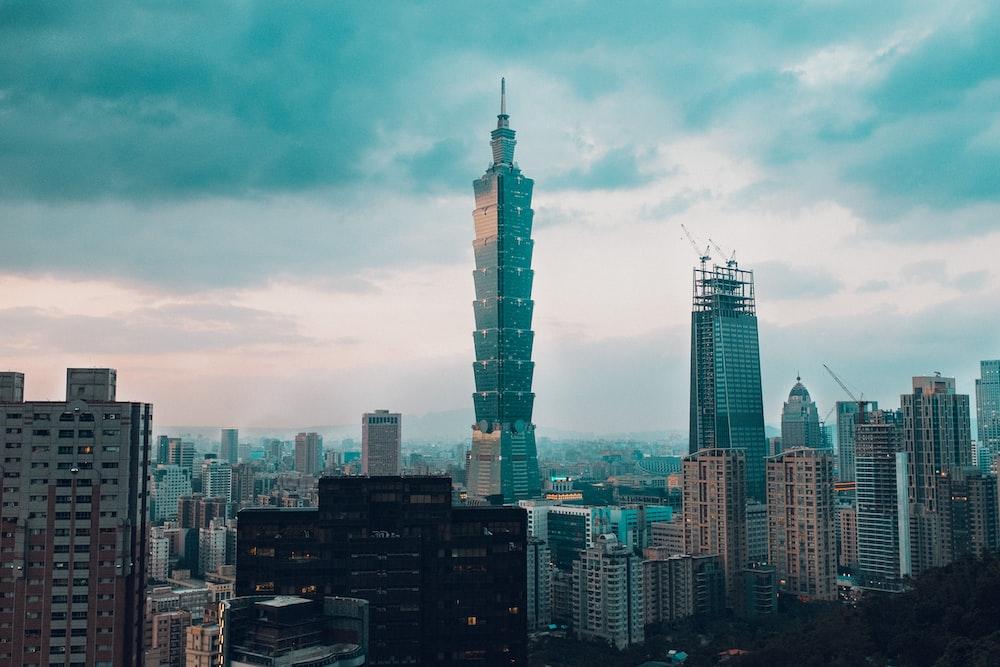 landscape photo of high rise building
