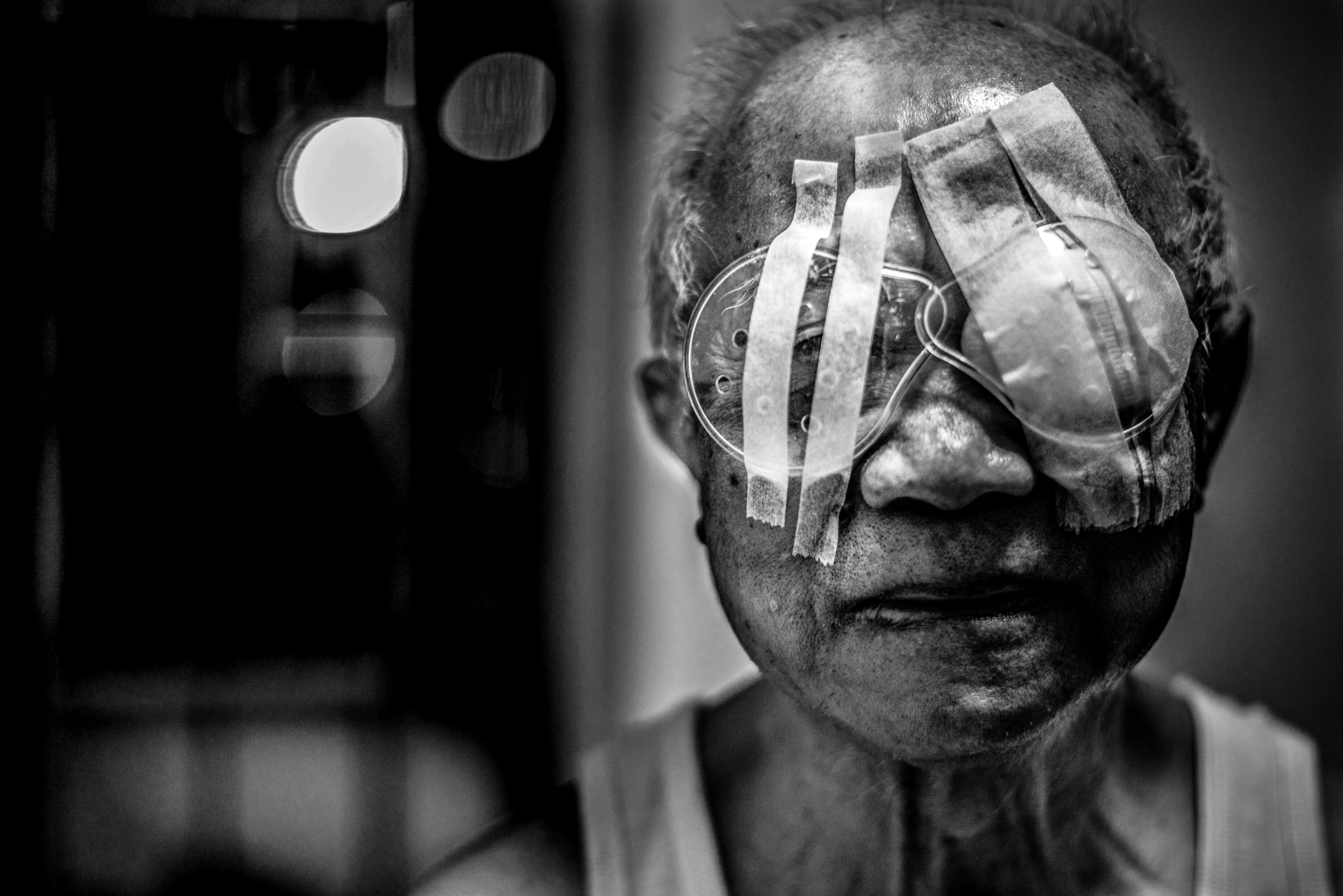 Image of: Face Shallow Focus Of Blind Man Photography Unsplash See With Your Heart Photo By Carl Cheng visualasone On Unsplash
