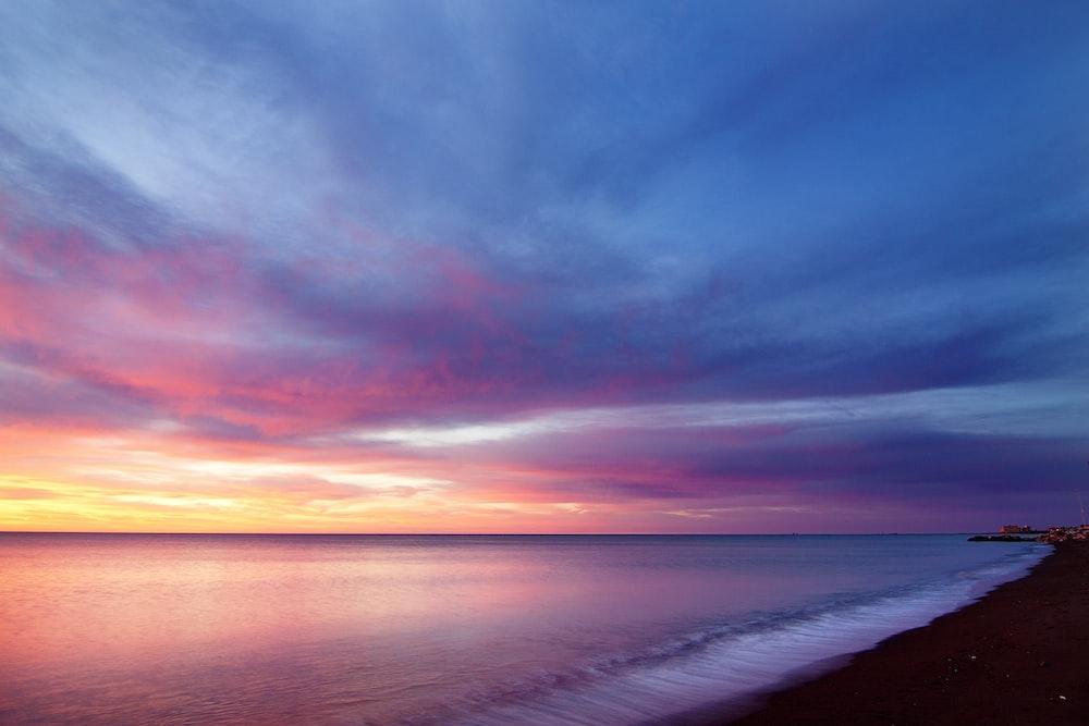 body of water and seashore