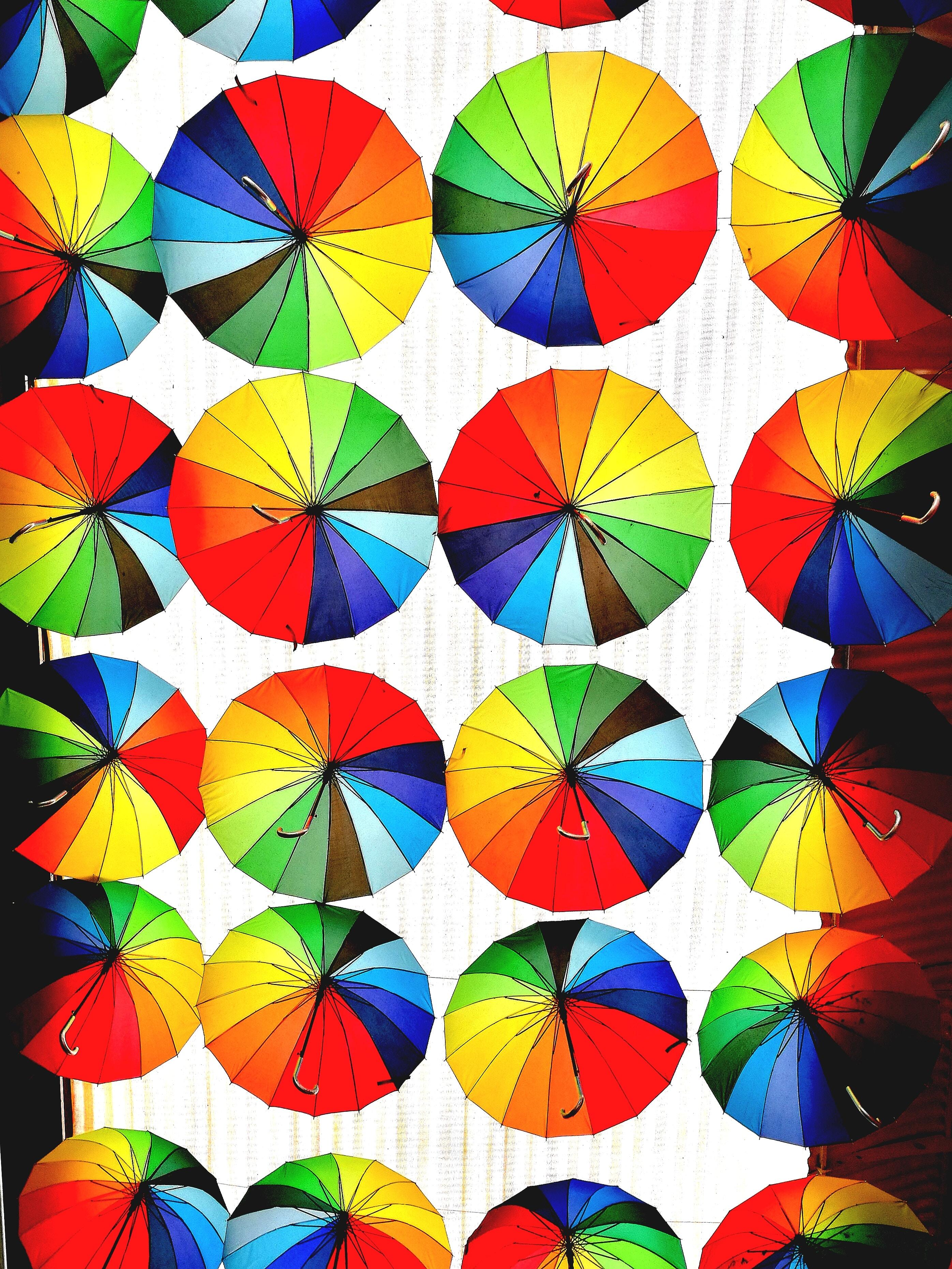 hanging umbrella decors