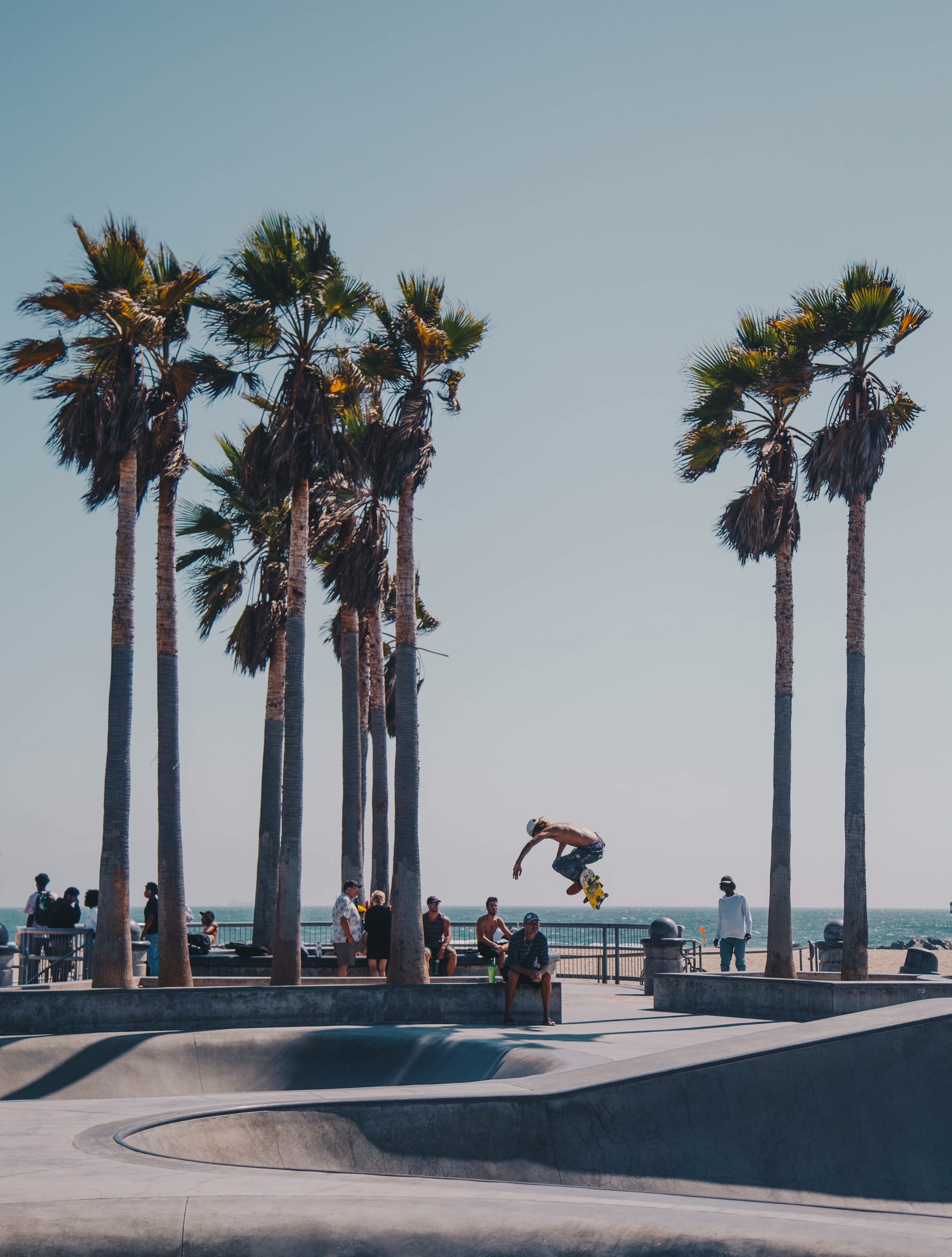 photo of man skateboarding on ramp