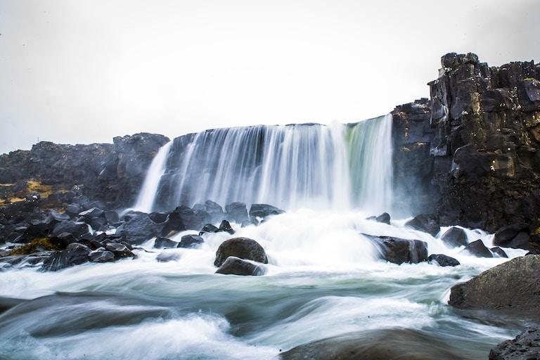 Oxararfoss De Þingvellir