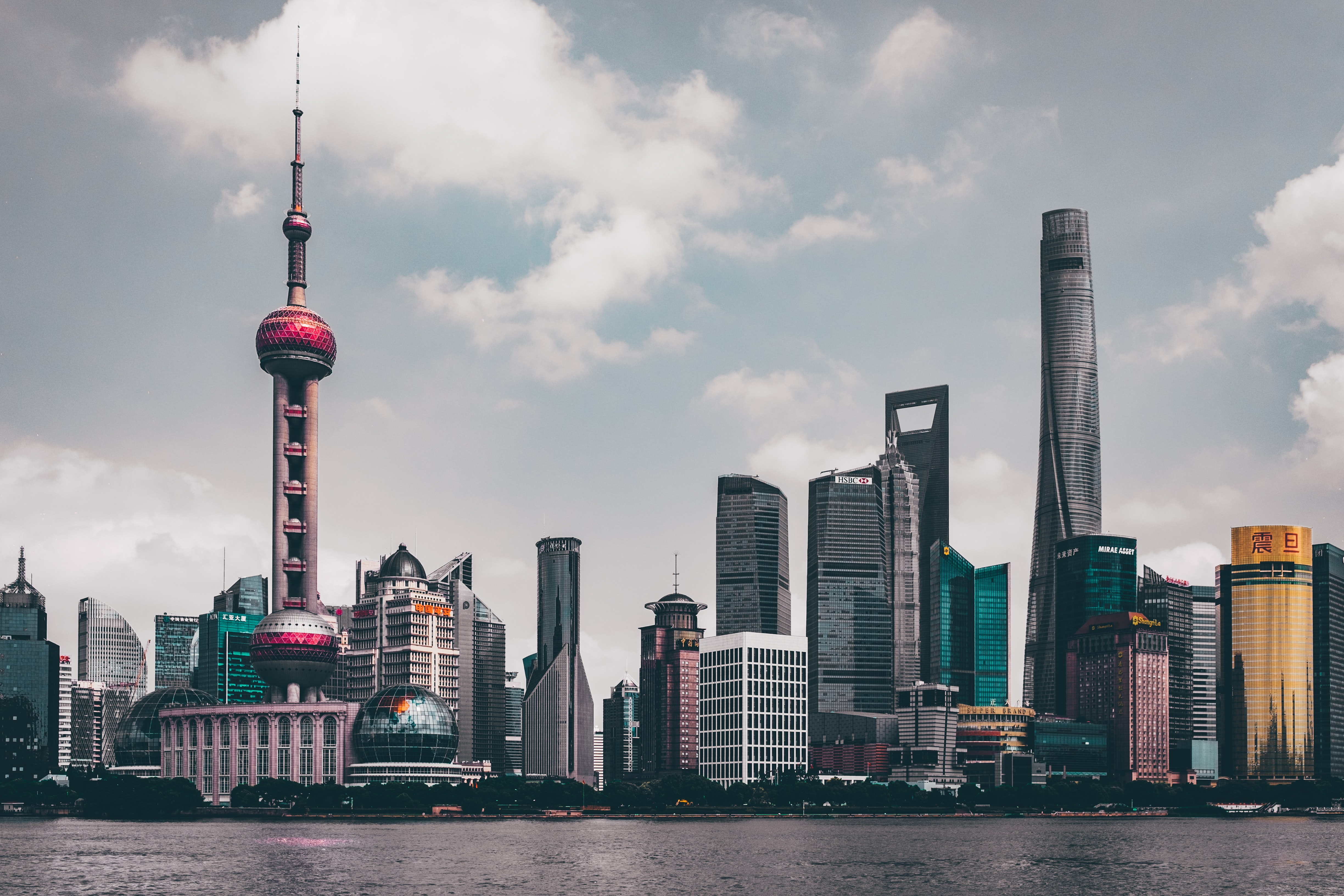 Oriental Pearl Tower in Shanghai during daytime