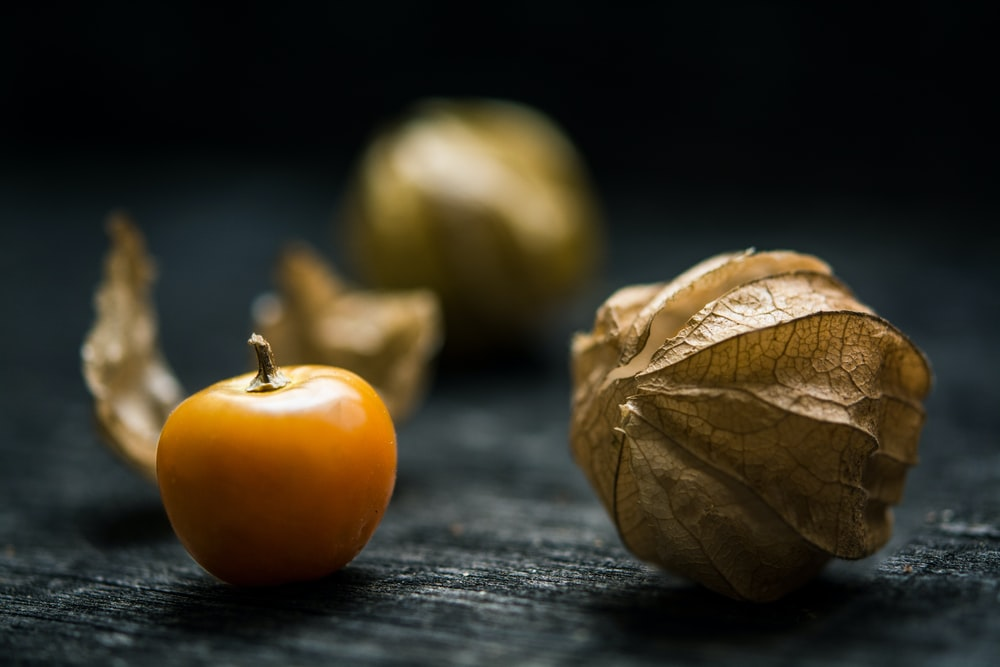 shallow focus photography of yellow fruit