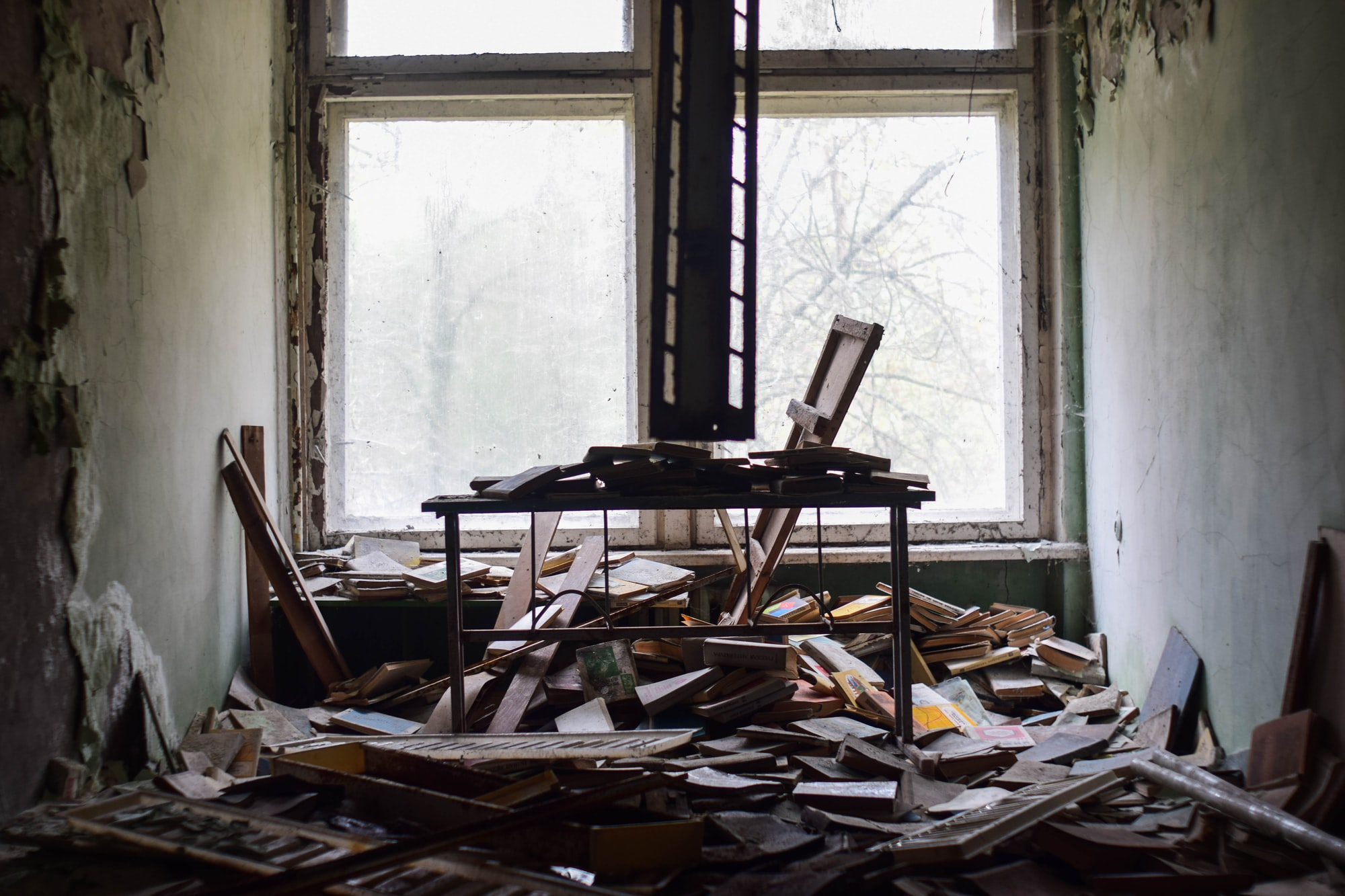 Abandoned school in Pripyat