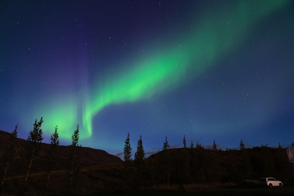photo of aurora boriales