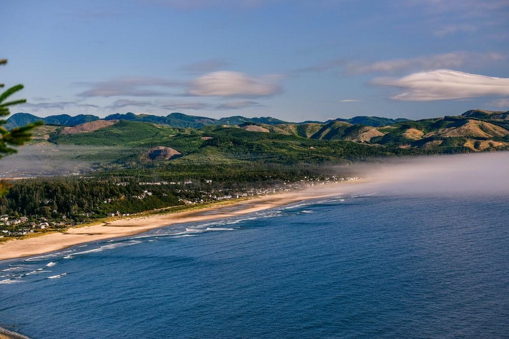 landscape photo of coastline