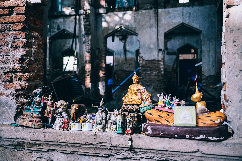 hindu deity figurine collection