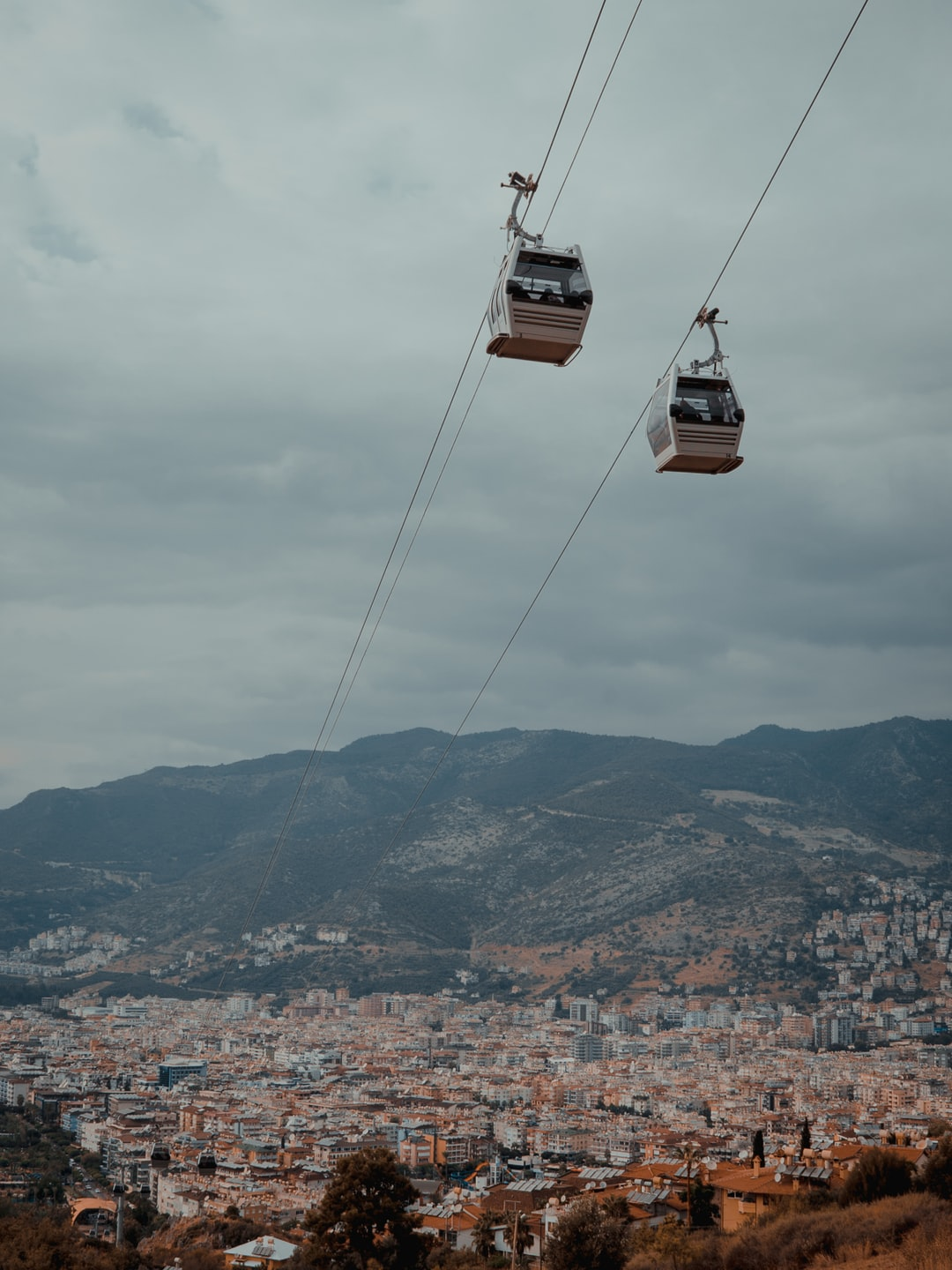 We were on a trip trough turkey. For our suprise, we celebrated the opening of the alanya gondolas. We took the chance to ride this things as the one of the first ones.