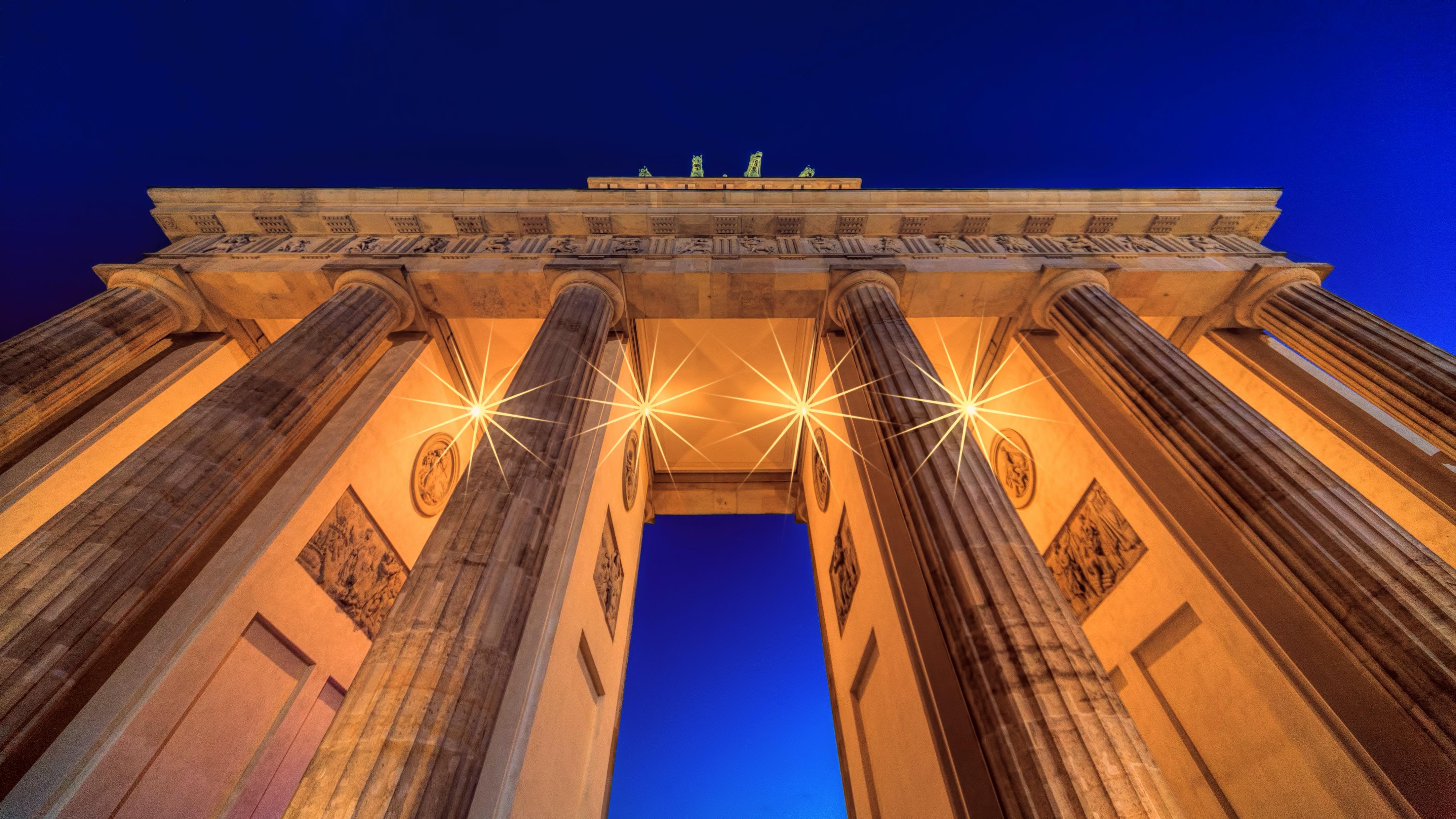 concrete arch under blue sky