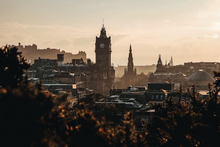 Edinburgh, Scotland, Places to Spend Christmas in Europe