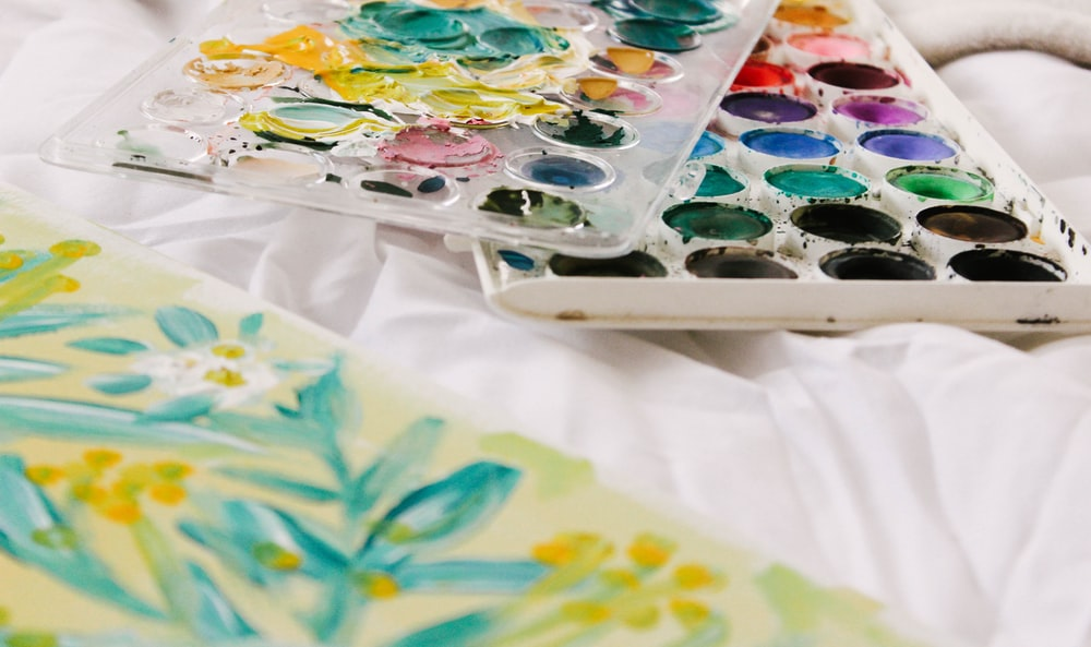watercolor painting case