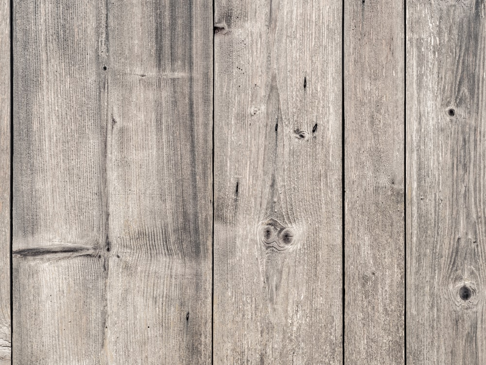 photo of gray wood plank