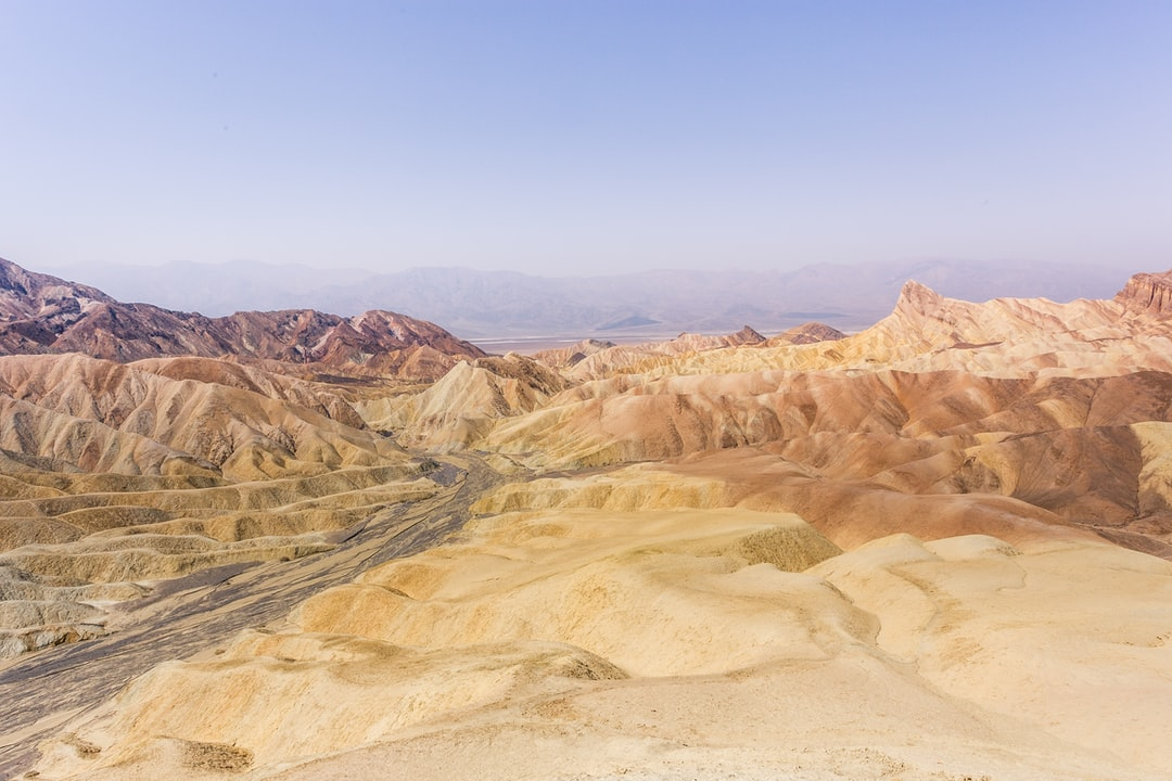 My first stop always at Death Valley National Park, Zabriskie Point. From this beautiful and texture-rich vantage point one can admire the dramatic geological features this immense park has to offer.