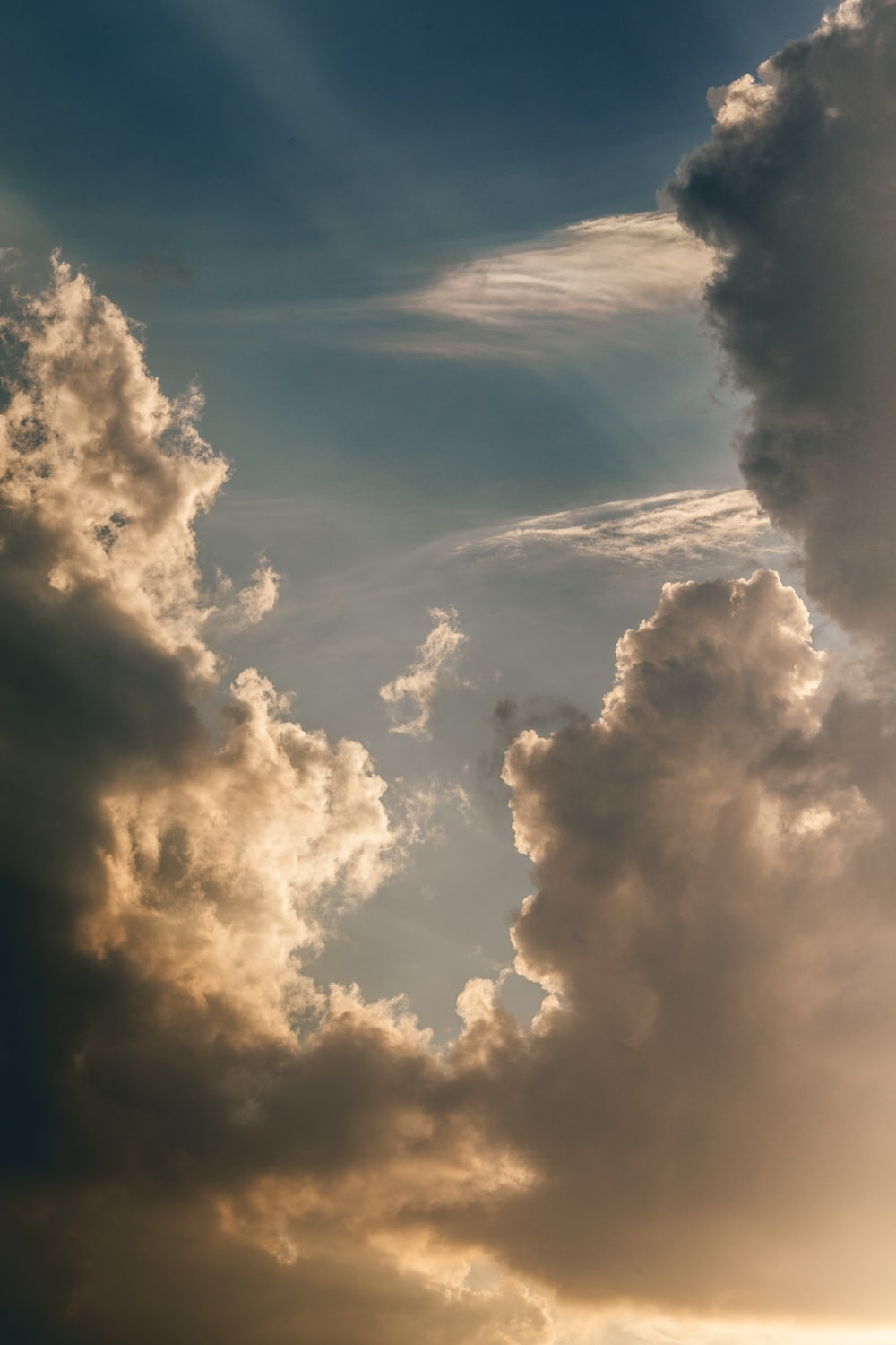 photography of cloud