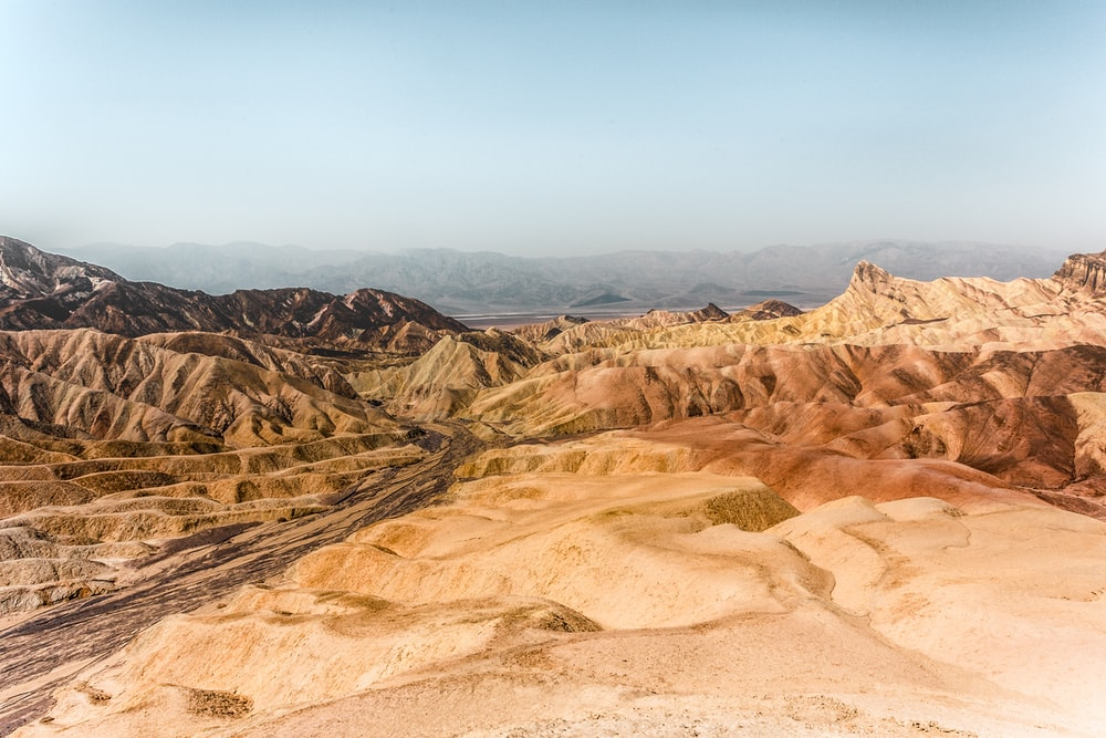 barren land during daytime photo