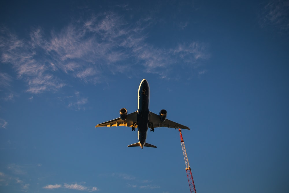 photo of brown airplane