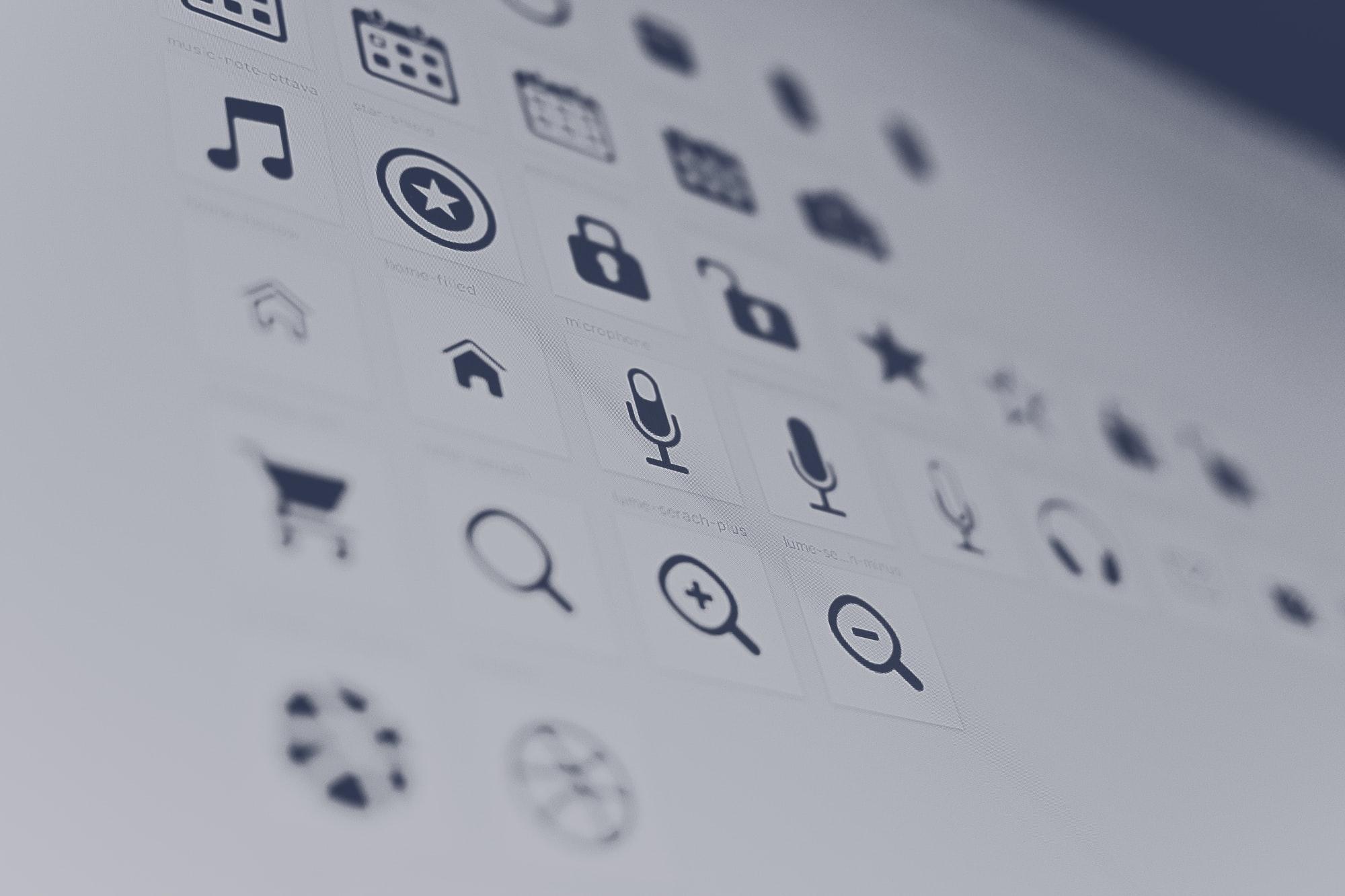 Design System - Icons for vue 3