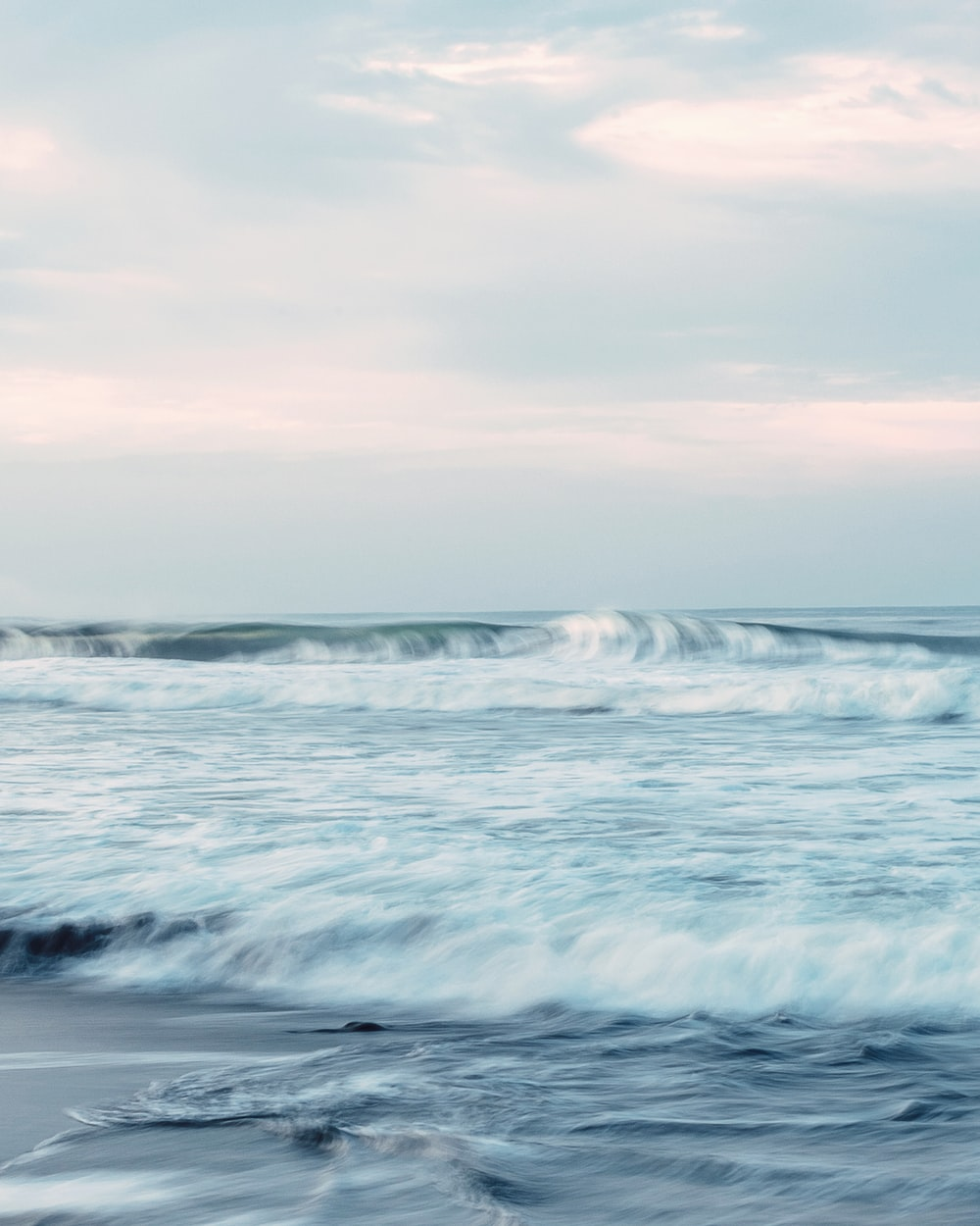 time lapse photography of ocean wave
