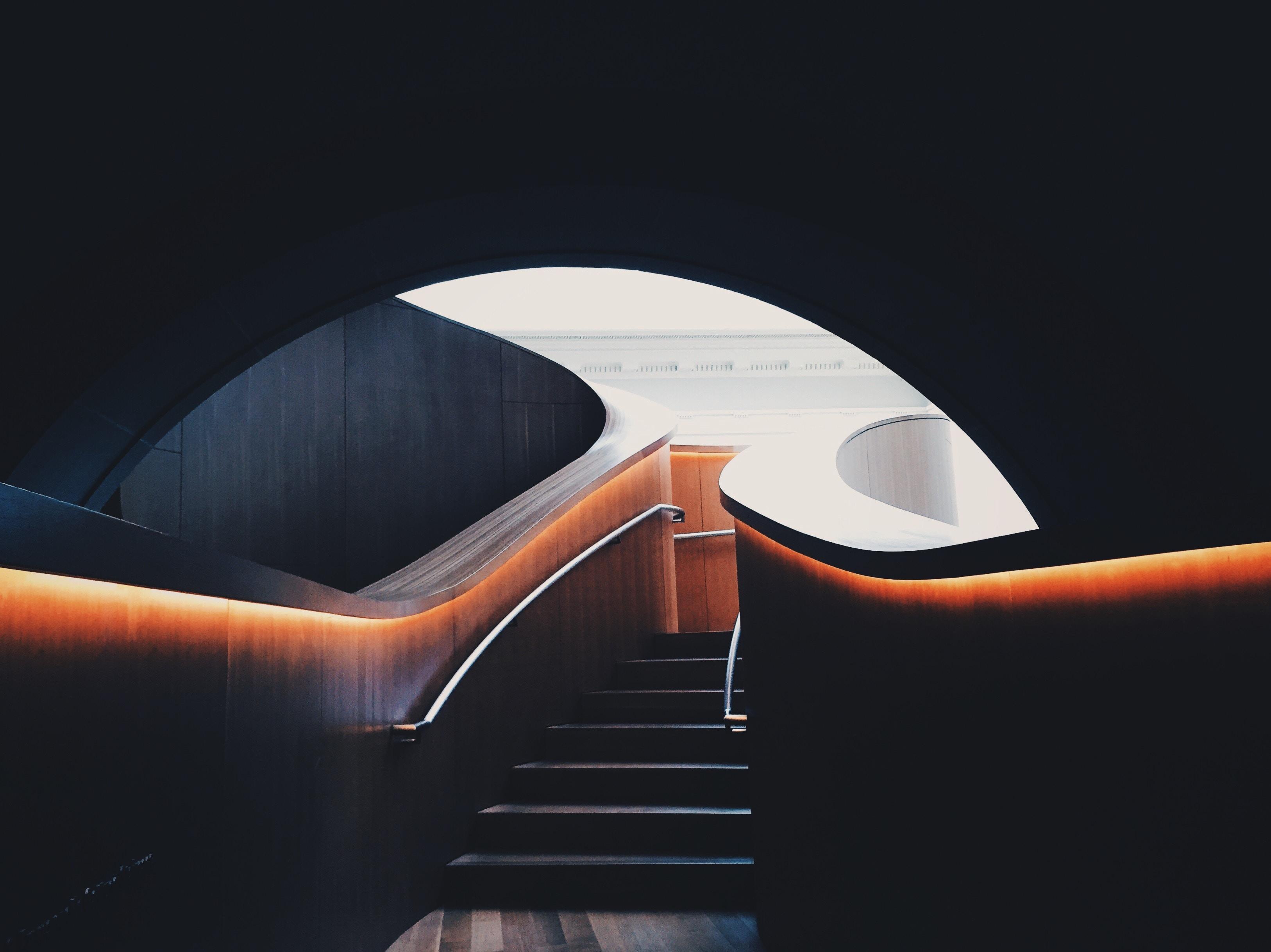staircase underground