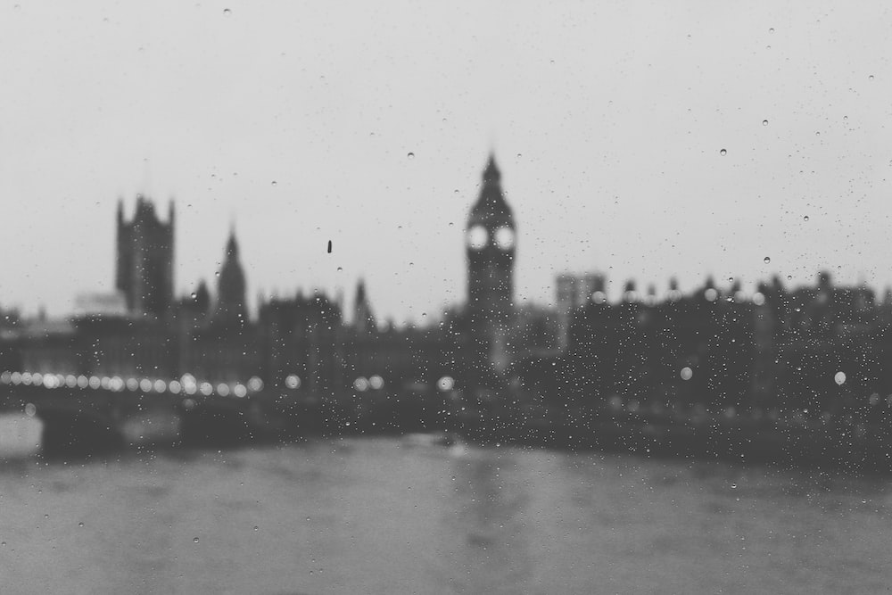 view of Westminster Palace from a window