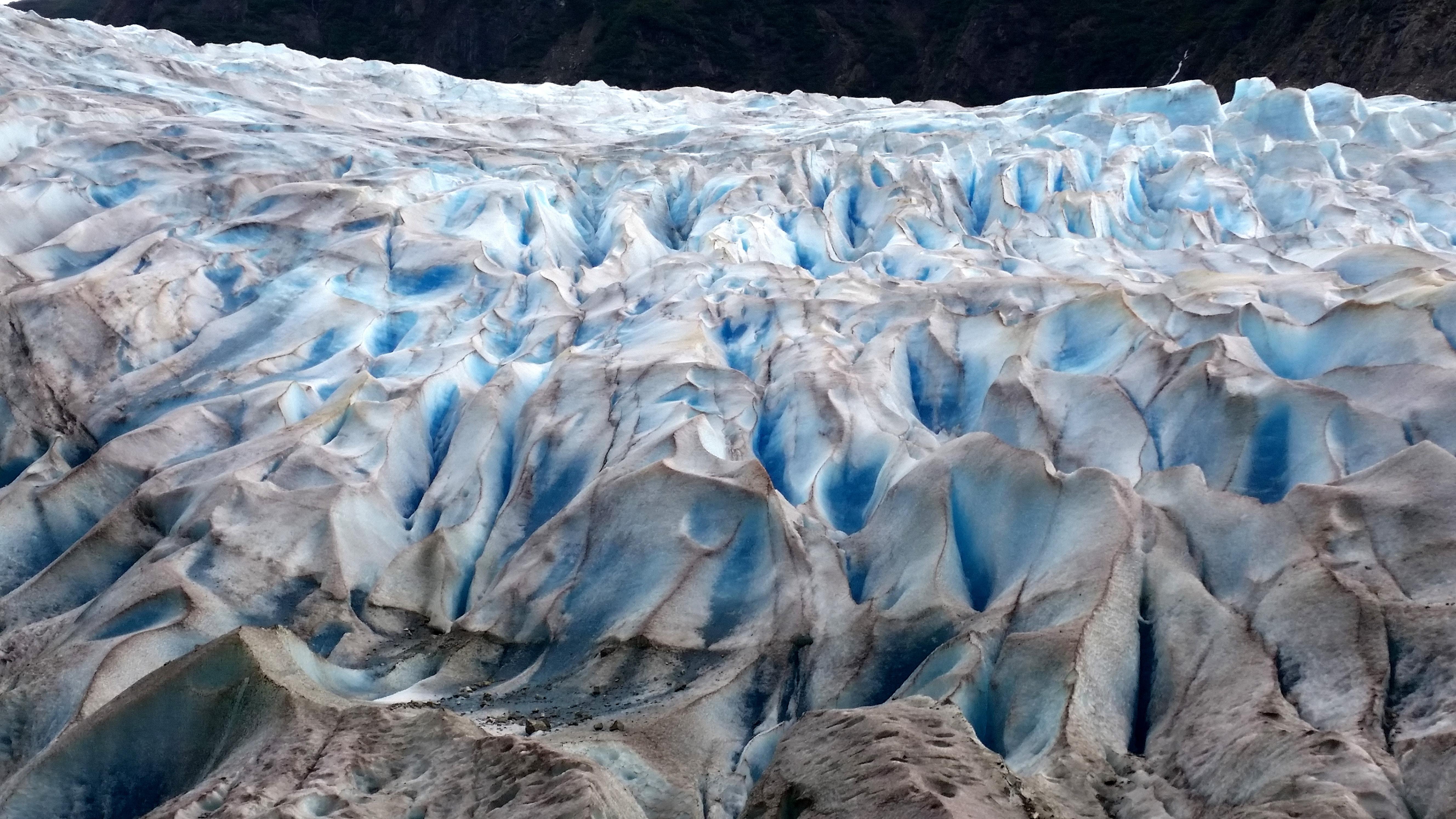 photo of glacier