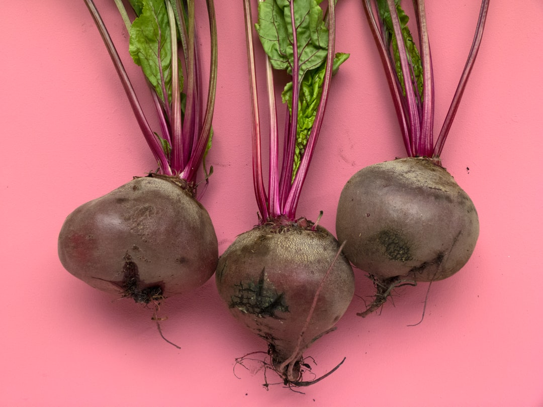 I grow my own organic fruit and vegetables or I buy them from local organic farmers like these beetroot beauties. I painted a backdrop in a colour that matched the trio, and shot them from above. I aim to highlight the extraordinary of the ordinary and the perfection of imperfection, that's why I barely edit my photos. All my photos are taken with natural light.