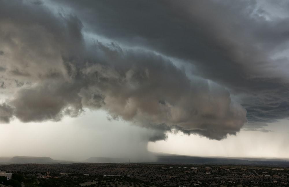 view of tornado