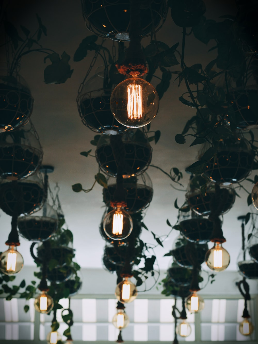 clear glass lamps