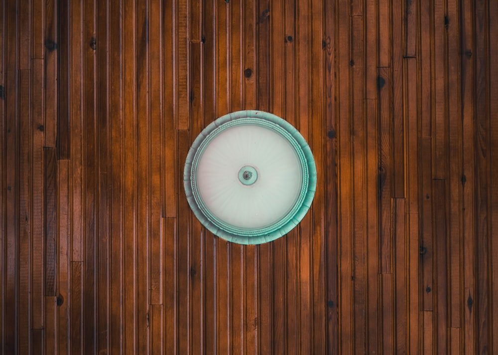 white dome light on table