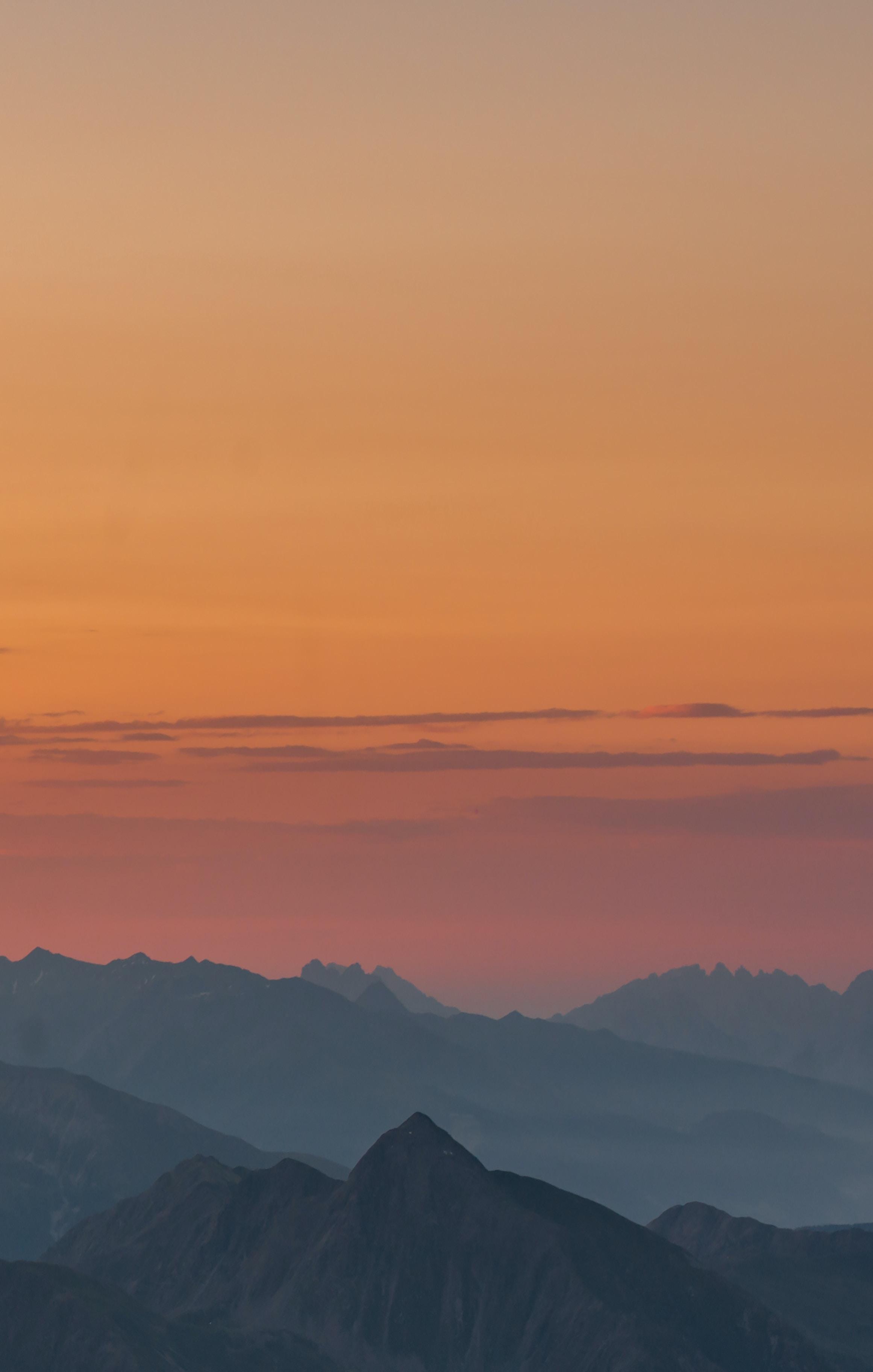bird's eye photography of mountain